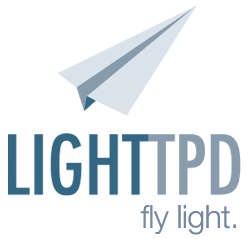 LIGHTTPD - fly light.