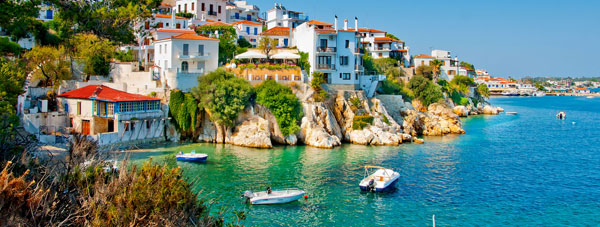View Skiathos for your next holiday