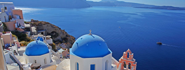View Santorini for your next holiday