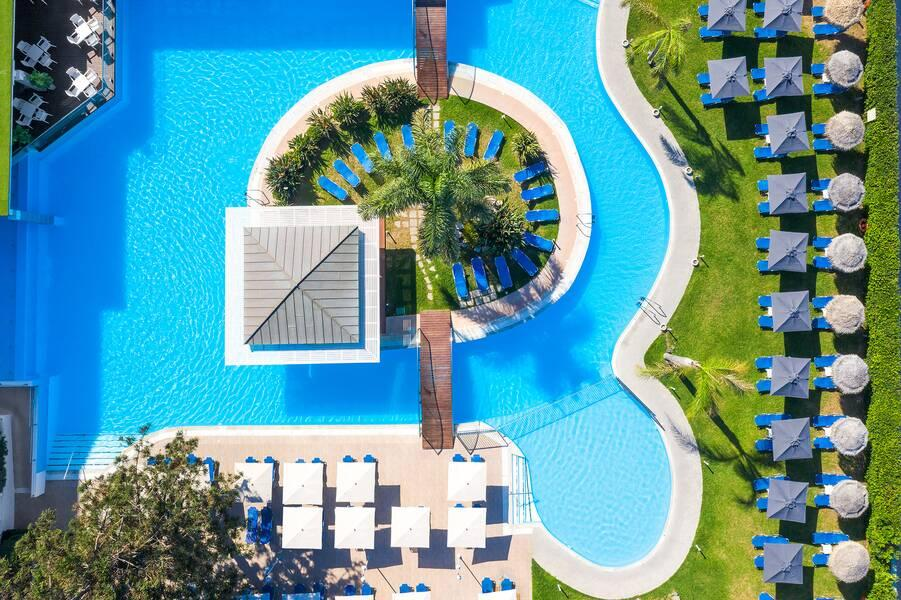 Holidays at Oceanis Hotel in Ixia, Rhodes