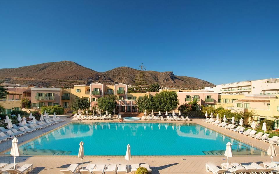 Holidays at Silva Beach Hotel in Hersonissos, Crete