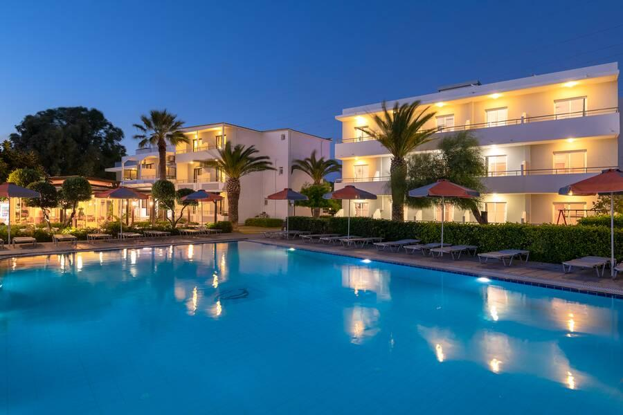 Holidays at Meliton Hotel in Tholos, Rhodes