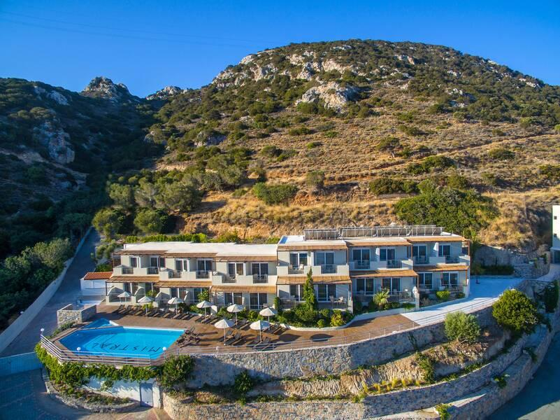 Holidays at Mistral Mare Hotel in Istron, Crete
