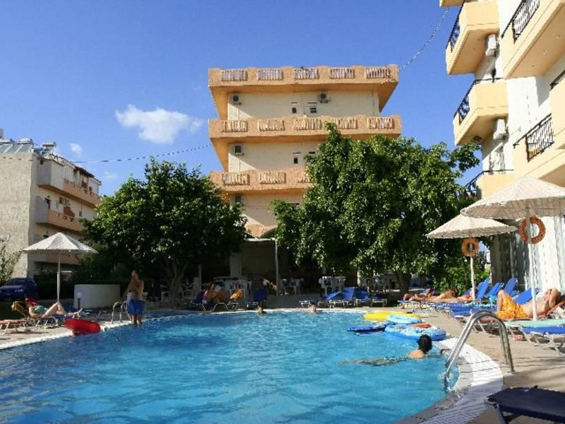 Holidays at Castro Hotel in Amoudara, Crete