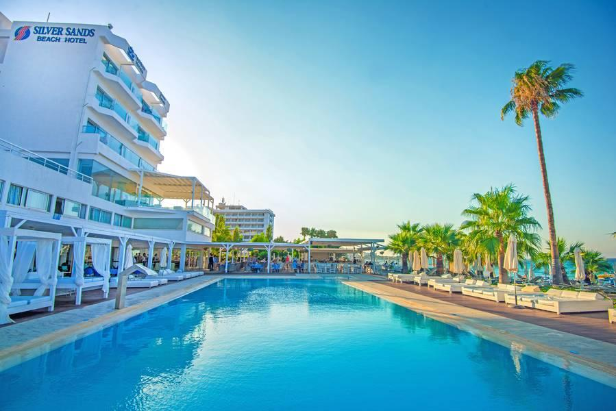 Holidays at Silver Sands Beach Hotel in Protaras, Cyprus
