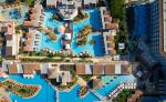 Aerial View of Swimming Pools at Atlantica Aeneas Hotel