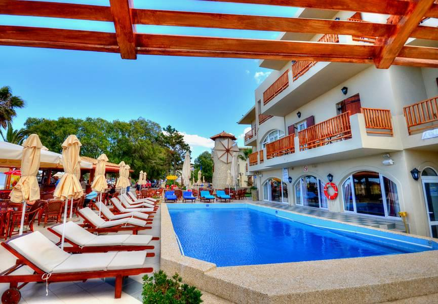Holidays at Kalyves Beach Hotel in Kalyves, Crete