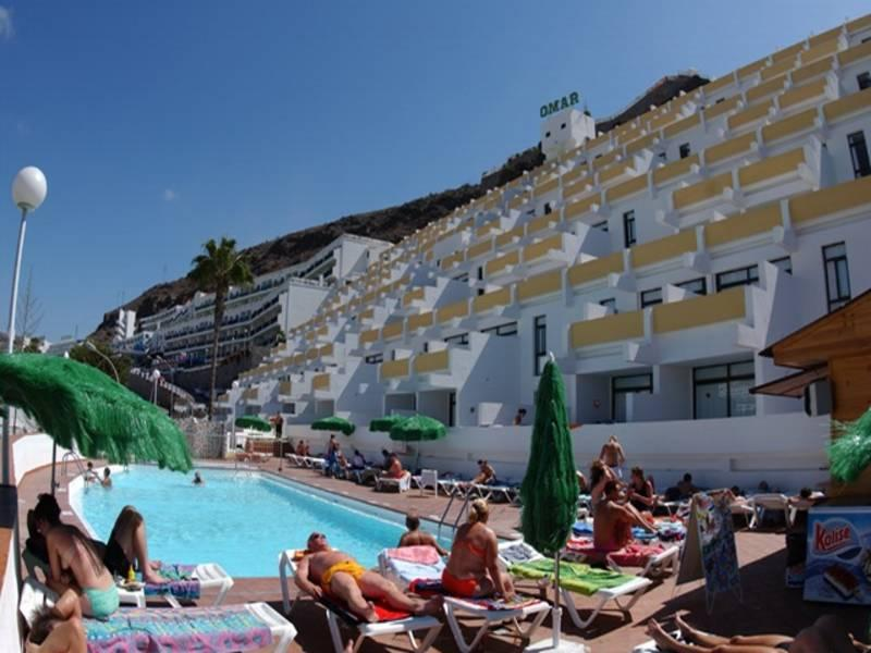 Holidays at Omar Apartments in Puerto Rico, Gran Canaria