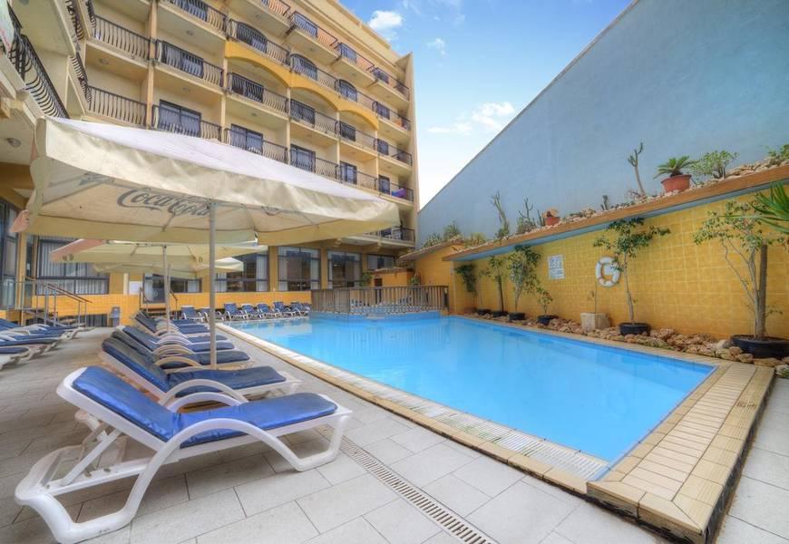 Holidays at Bella Vista Hotel in Qawra, Malta
