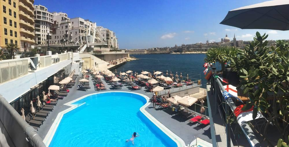 Holidays at Fortina Hotel in Sliema, Malta