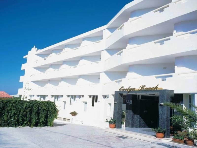 Holidays at Evelyn Beach Hotel in Hersonissos, Crete