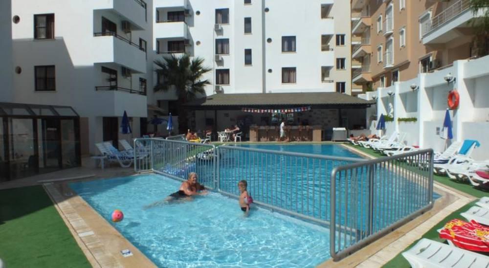 Holidays at Tuntas Suites Apartments in Altinkum, Bodrum Region