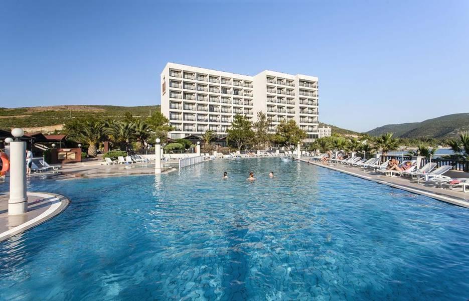 Holidays at Tusan Beach Resort Hotel in Kusadasi, Bodrum Region
