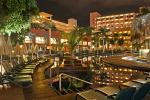 Picture of Sun Terrace at Night at Best Jacaranda Hotel