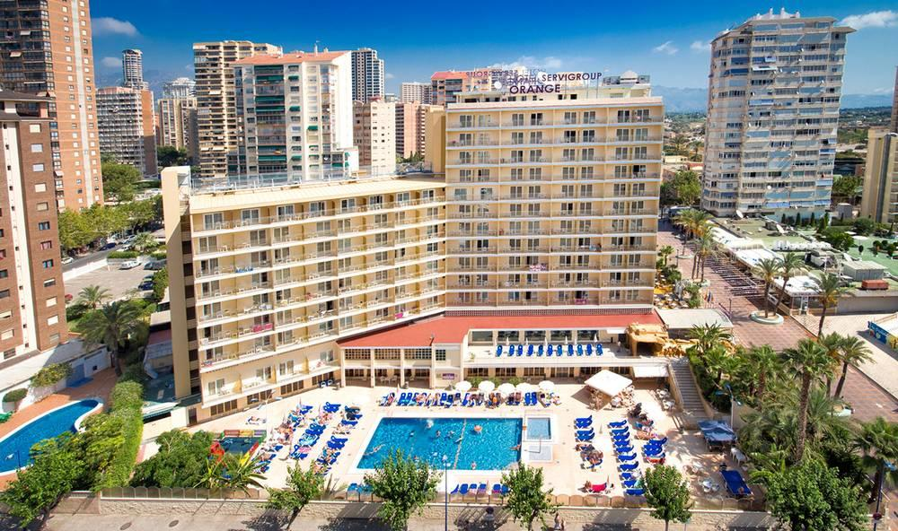Holidays at Servigroup Orange Hotel in Benidorm, Costa Blanca