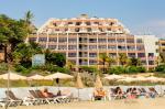 Beach Adjacent to SBH Crystal Beach Hotel