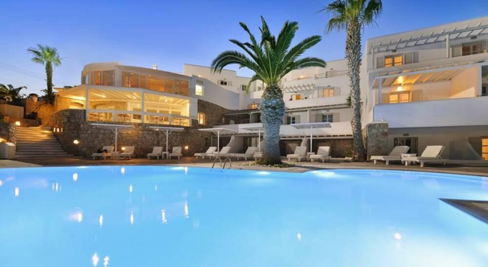 Holidays at Palladium Hotel in Plati Gialos, Mykonos