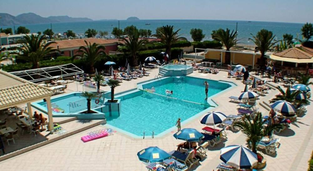 Holidays at Poseidon Beach Hotel in Laganas, Zante