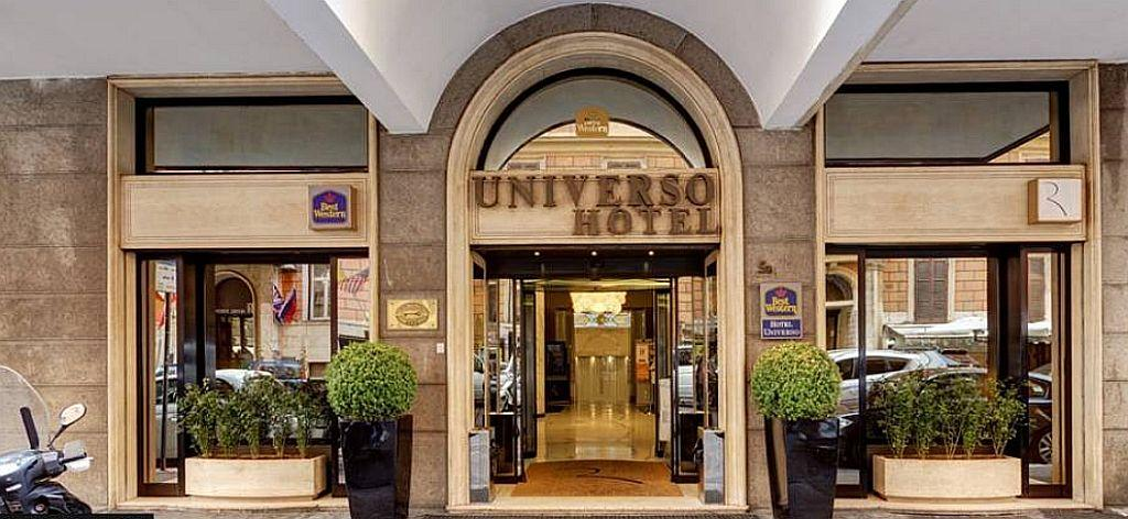 Holidays at Best Western Hotel Universo in Rome, Italy