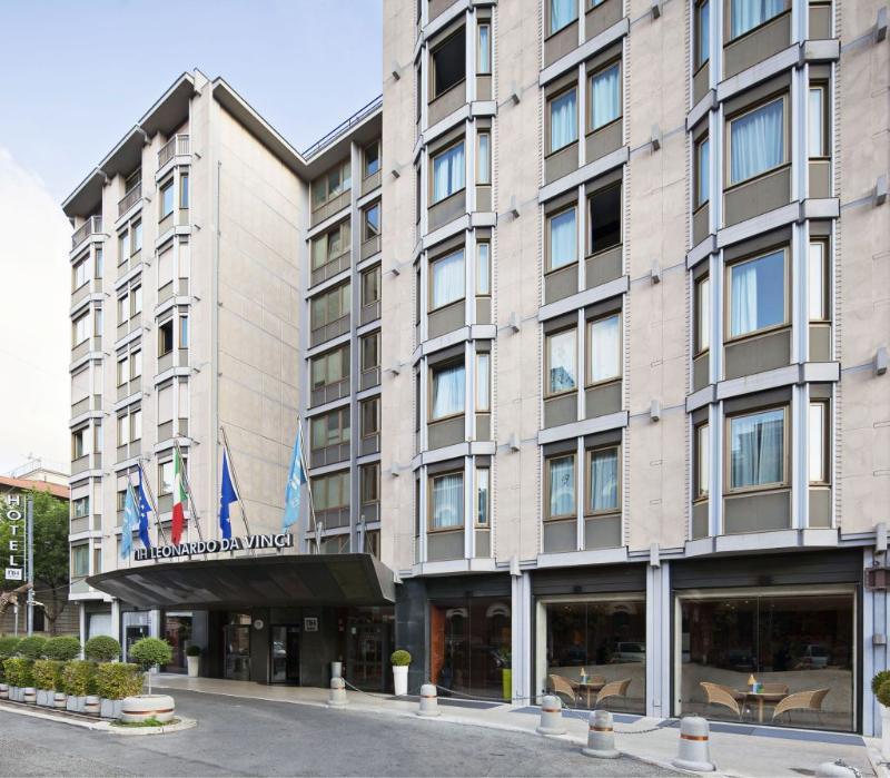 Rooms: NH Leonardo Da Vinci Hotel, Rome, Italy. Book NH Leonardo