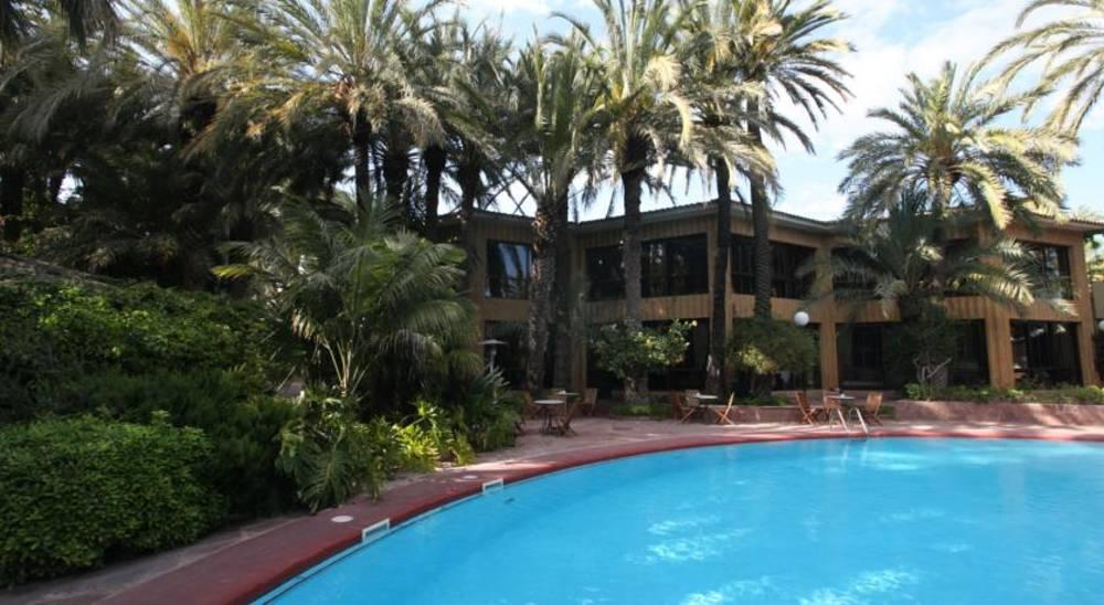 Holidays at Huerto Del Cura Hotel in Elche, Costa Blanca