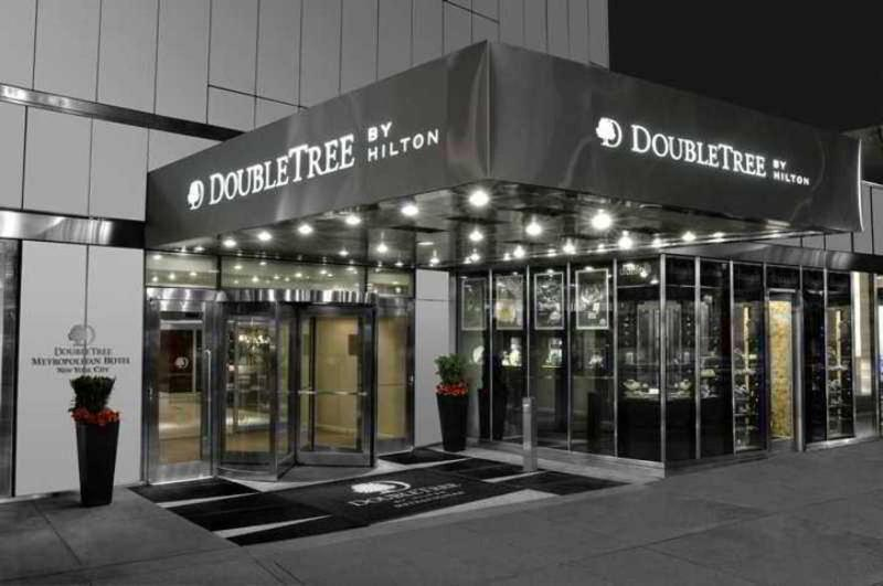Holidays at Doubletree Metropolitan Hotel in New York, New York