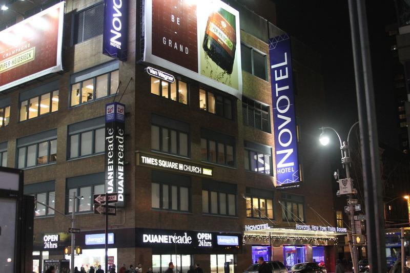 Novotel Times Square Hotel New York New York Usa Book