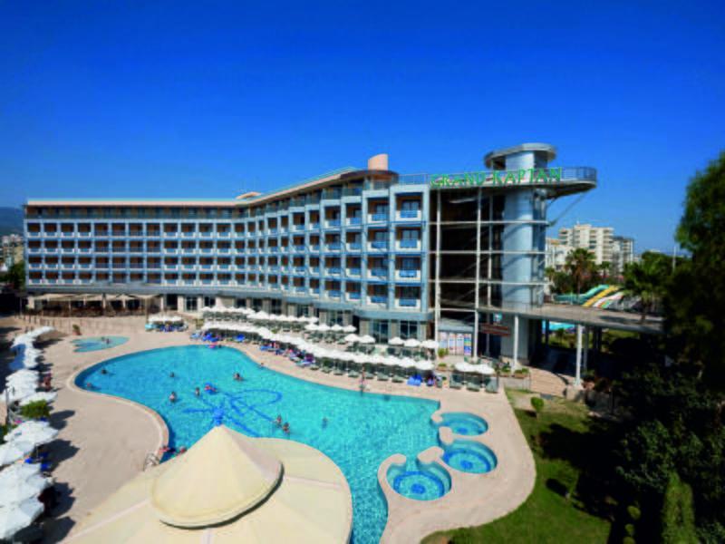 Holidays at Grand Kaptan Hotel in Alanya, Antalya Region