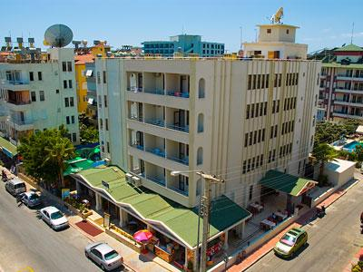 Holidays at Glaros Hotel in Alanya, Antalya Region