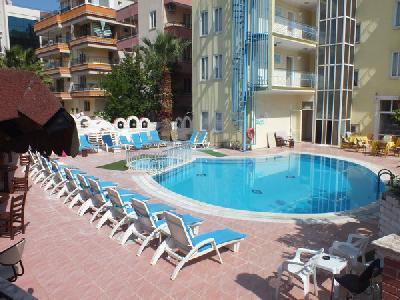 Holidays at Atlantik Apartments in Altinkum, Bodrum Region
