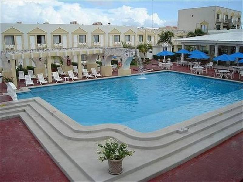 Holidays at Holiday Inn Express Hotel in Cancun, Mexico