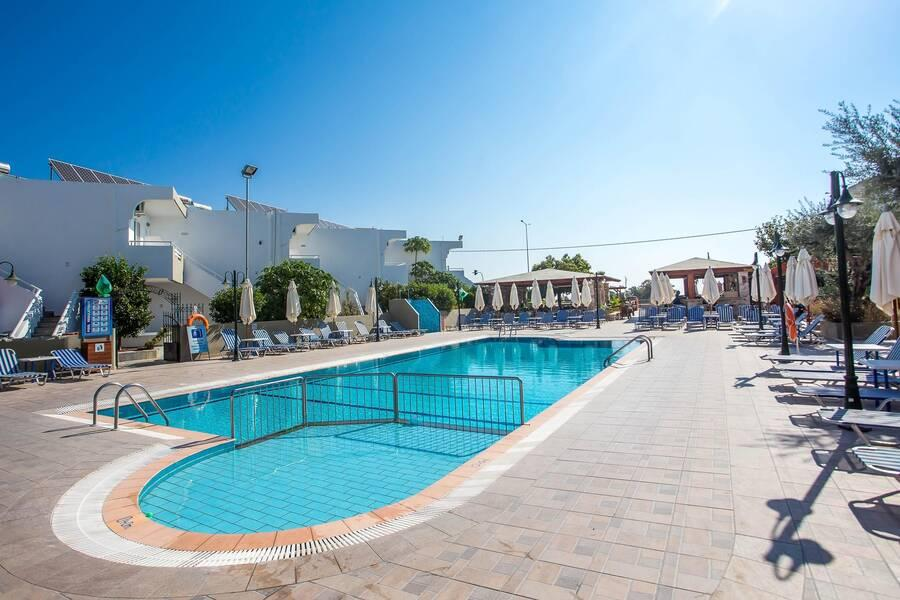 Holidays at Georgia Apartments in Afandou, Rhodes