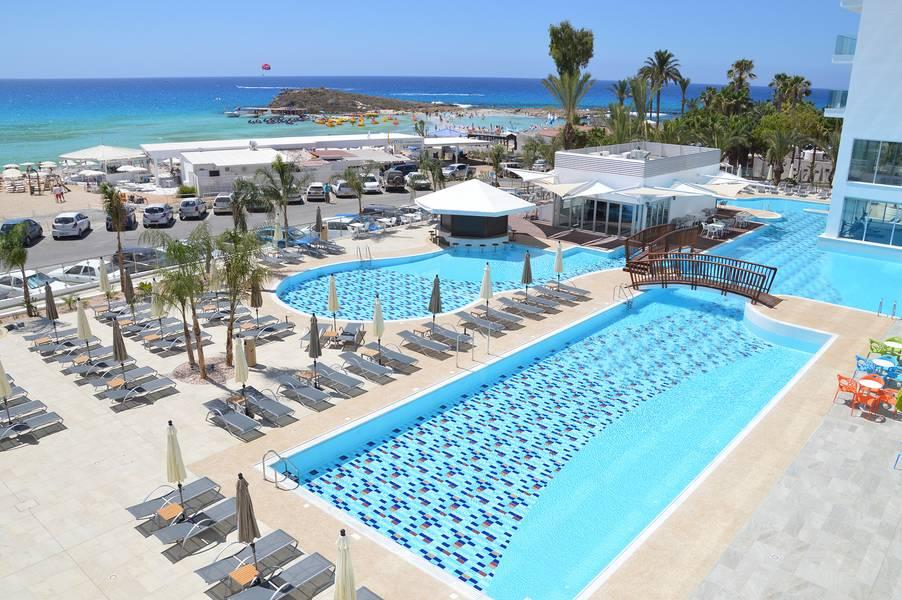 Holidays at Vassos Nissi Plage Hotel & Apartments in Ayia Napa, Cyprus