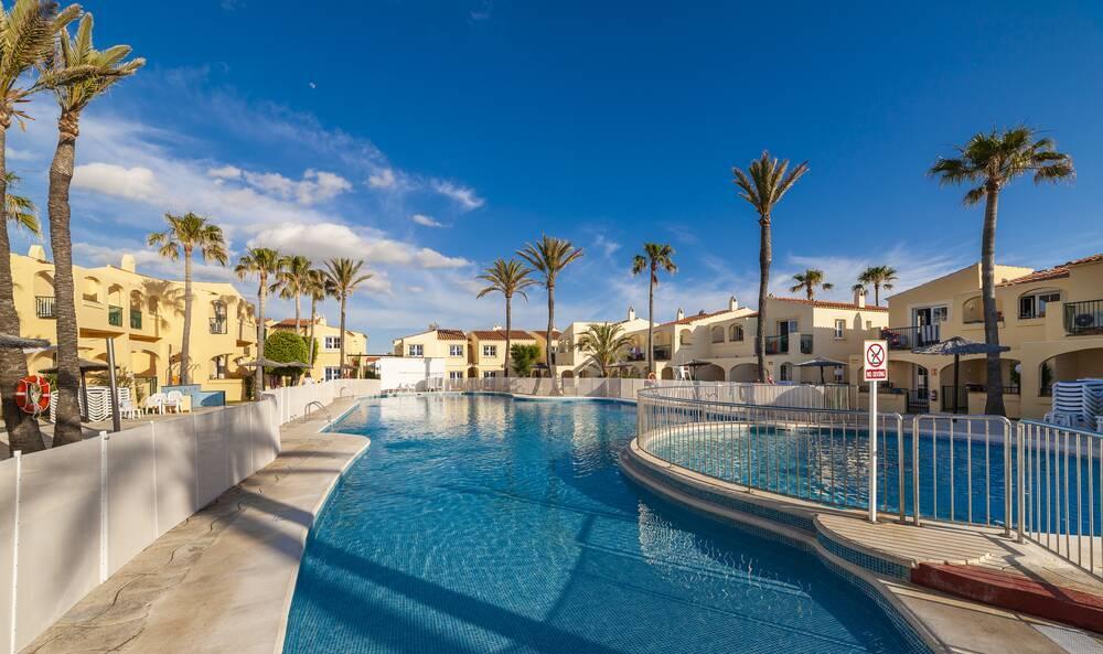 Holidays at Globales Binimar Apartments in Cala'n Forcat, Menorca