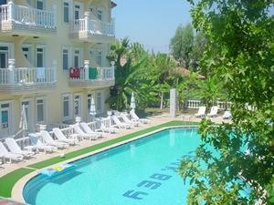 Holidays at Cenk Bey Hotel in Calis Beach, Dalaman Region