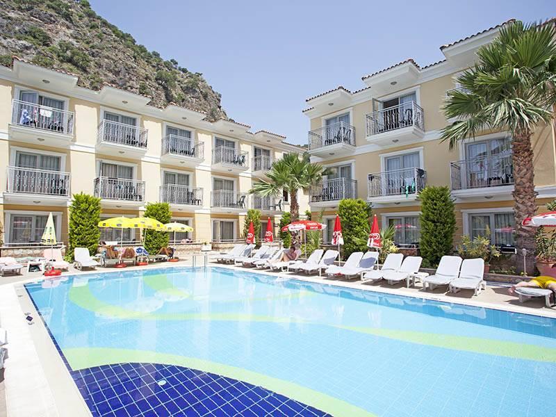 Holidays at Villa Beldeniz Hotel in Olu Deniz, Dalaman Region