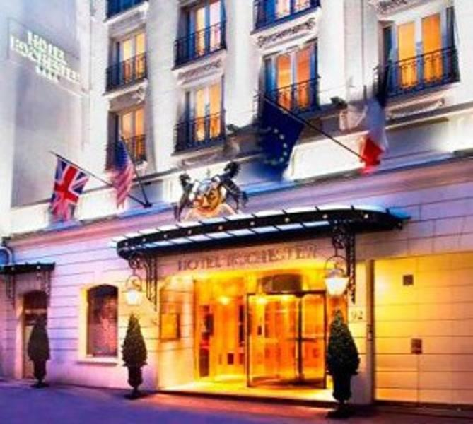 Holidays at Rochester Champs Elysees Hotel in C.Elysees, Trocadero & Etoile (Arr 8 & 16), Paris