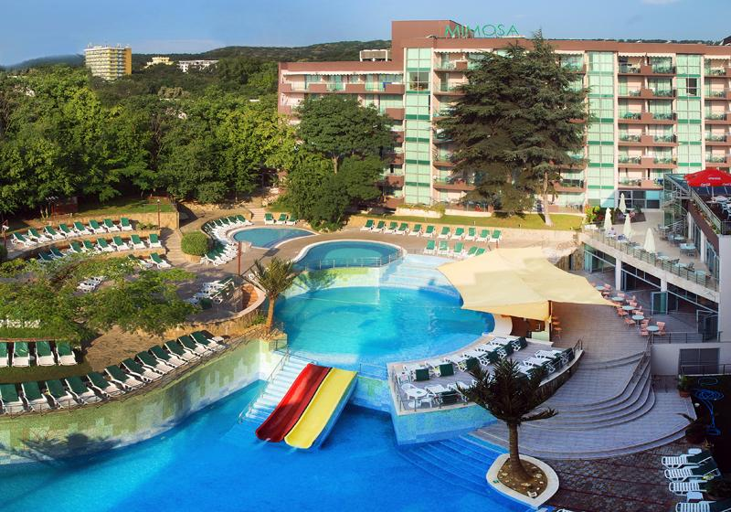 Holidays at Mimosa Hotel and Spa in Golden Sands, Bulgaria