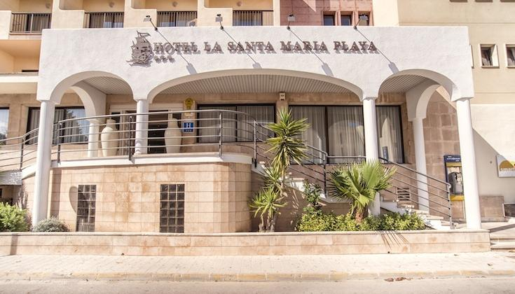 Holidays at La Santa Maria Playa Hotel in Cala Millor, Majorca