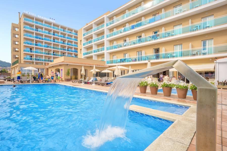 Holidays at Alegria Maripins Hotel in Malgrat de Mar, Costa Brava