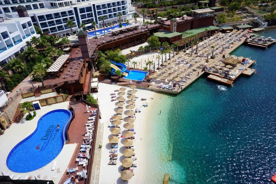 Holidays at Delta Beach Resort Hotel in Yalikavak, Bodrum Region