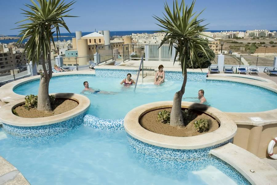 Holidays at Sunflower Hotel in Qawra, Malta