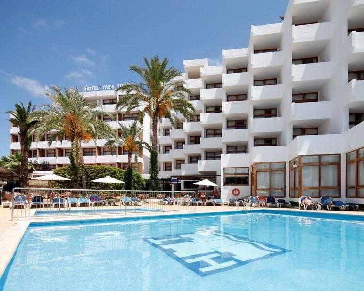 Holidays at Tres Torres Hotel in Santa Eulalia, Ibiza