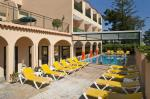 Swimming Pool and Sun Loungers at Casablanca Inn Hotel