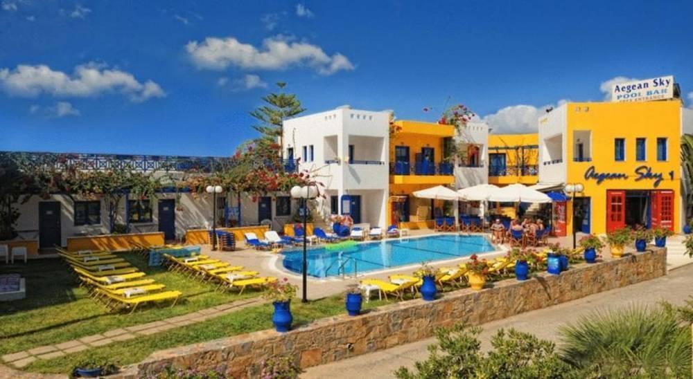Holidays at Aegean Sky Hotel & Suites in Malia, Crete