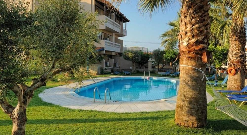 Holidays at Aggelo Hotel in Stalis, Crete