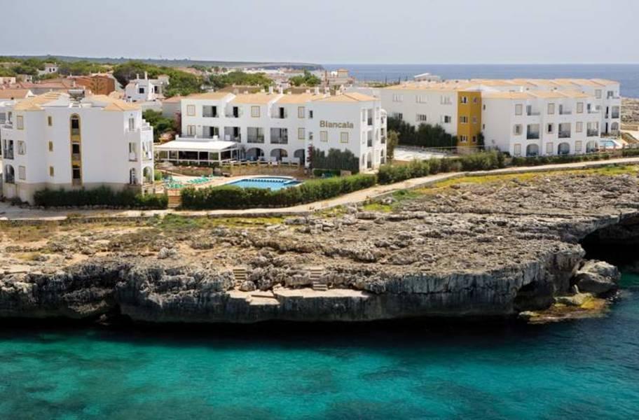 Holidays at Blancala Apartments in Cala Blanca, Menorca