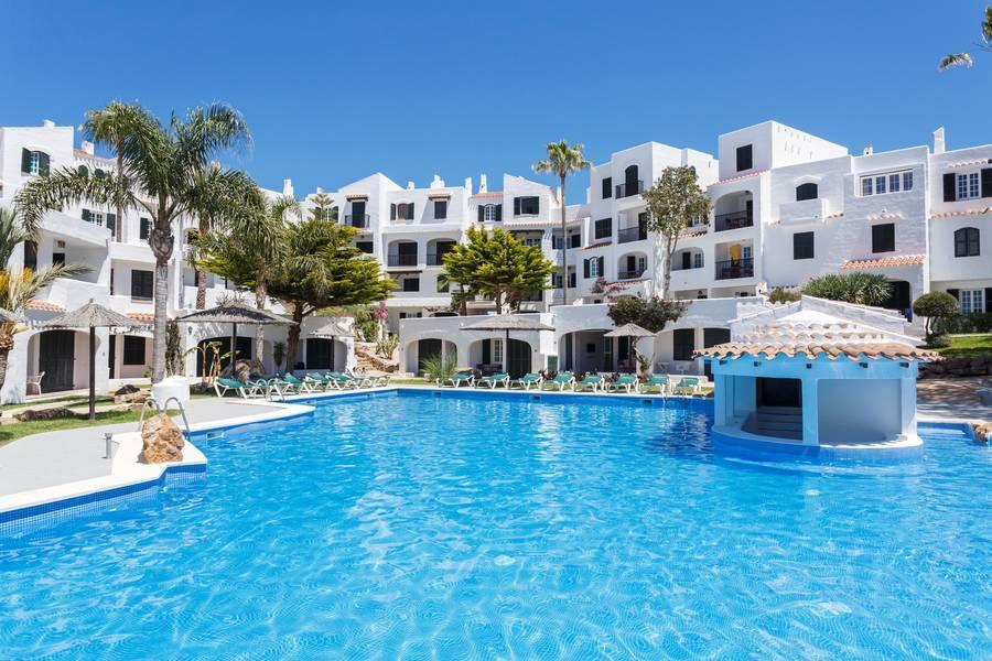 Holidays at Carema Garden Village in Playas de Fornells, Menorca