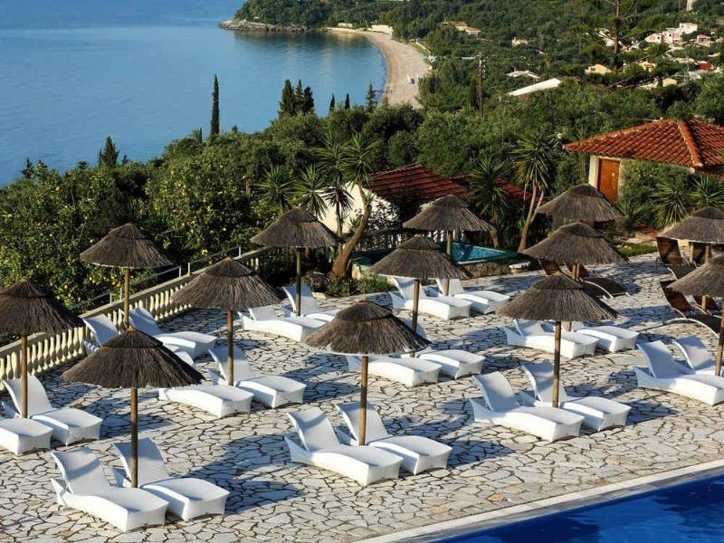Holidays at Pantokrator Hotel in Barbati, Corfu