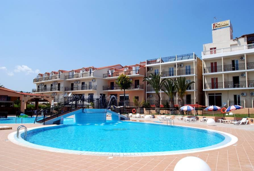 Holidays at Alexander The Great Aparthotel in Laganas, Zante